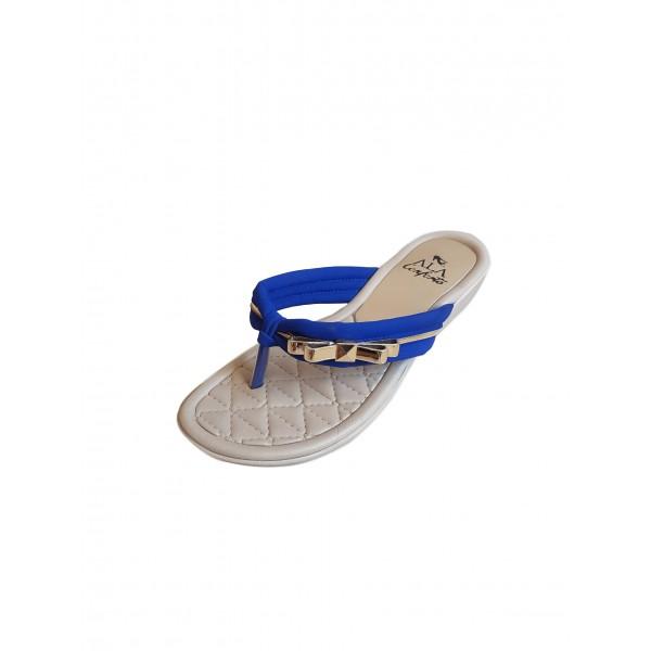 Tamanco Ala Conforto Nobuck Azul Ref.:A1422.8795